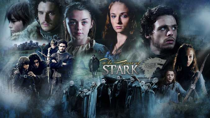 Game of Thrones, a great story of fates